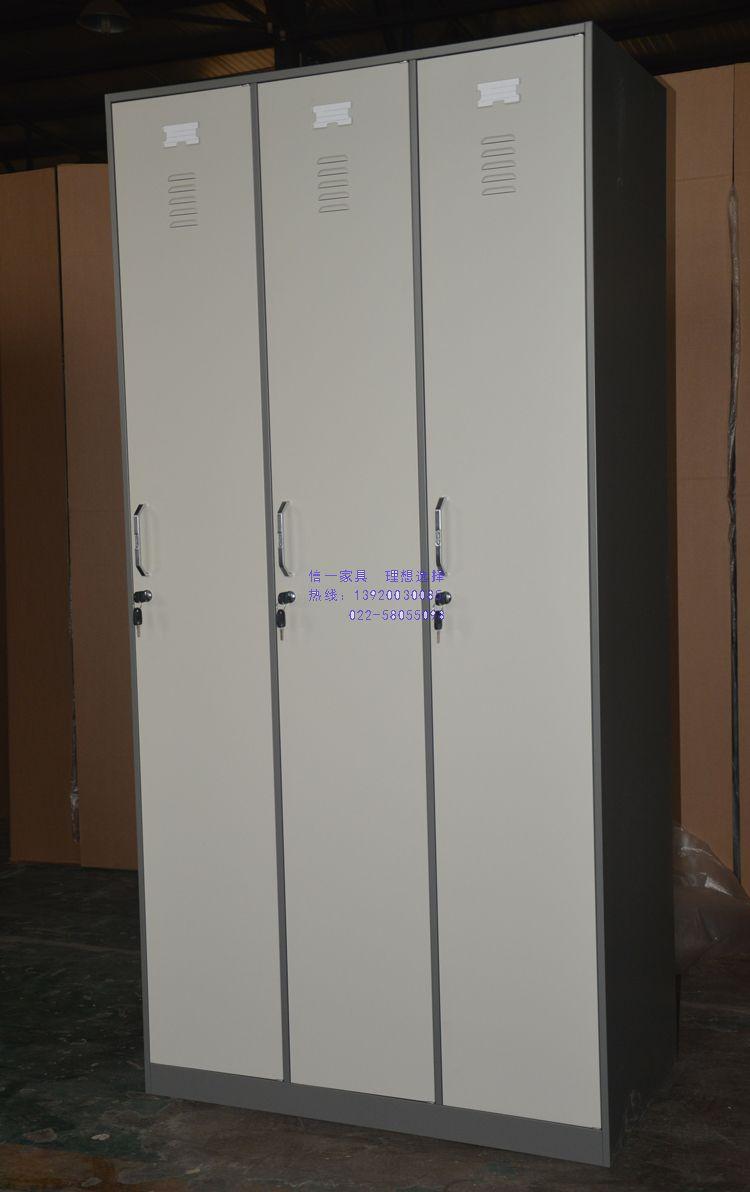 窄边豪华三门更衣柜、薄边三门更衣柜、三门更衣柜、可订做