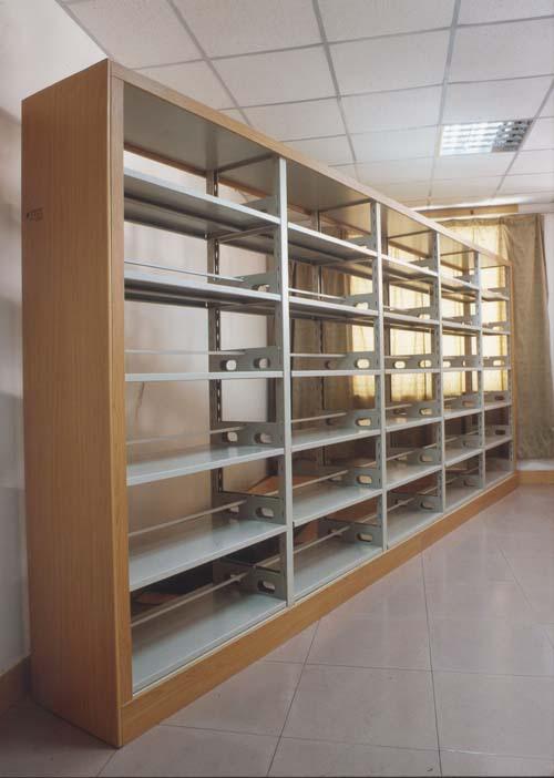 钢木结合图书书架XY-001