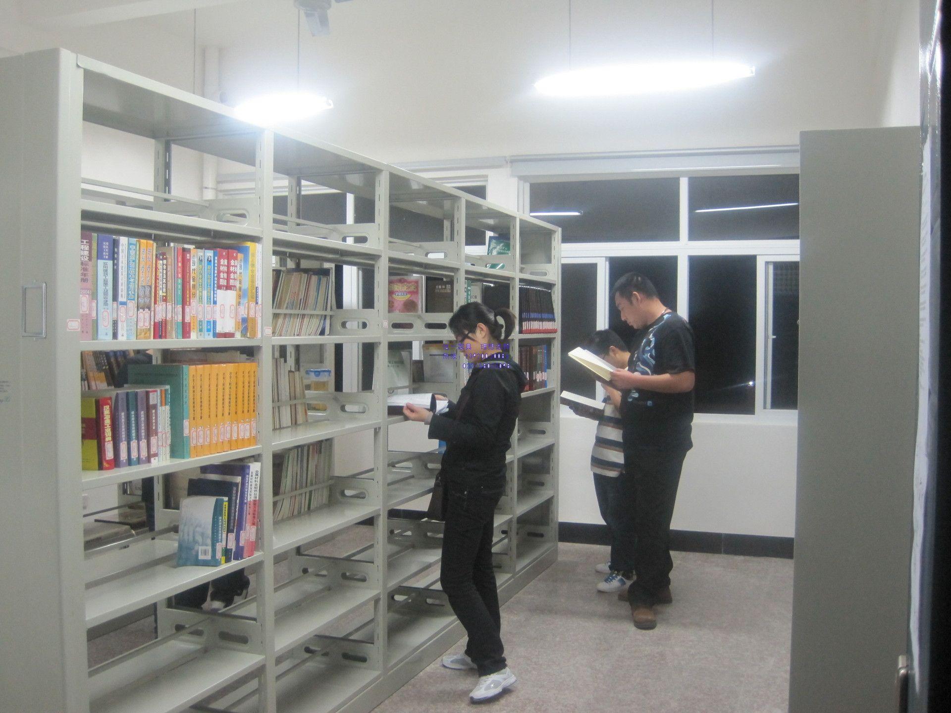 钢制图书馆书架