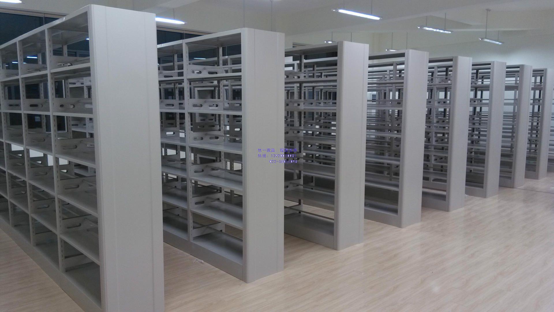 钢制图书馆书架、阅览室书架