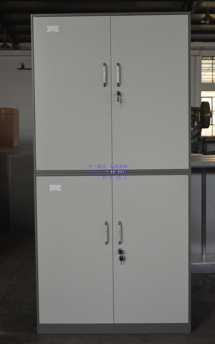 窄边档案柜、薄边文件柜、双节柜可订做
