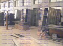 天津信一档案文体柜立柱生产车间